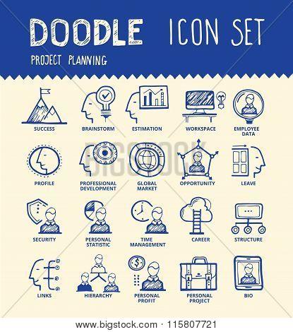 Employee Icon Set