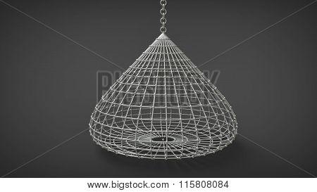 Droplike Birdcage Coop