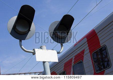 Light On Railway Station
