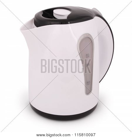 One Electric Kettle (clipping Path)
