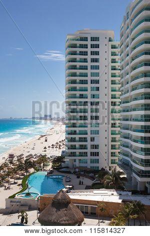 Luxury Hotel Bay View Grand Porto Fino With A Swimming Pool On Caribbean Sea Coastline