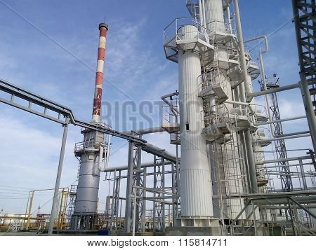 Distillation Columns And Heating Furnace