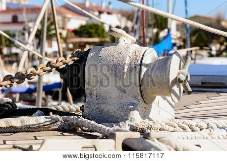 Anchor Windlass Yacht