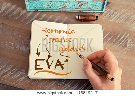 Business Acronym Eva Economic Value Added