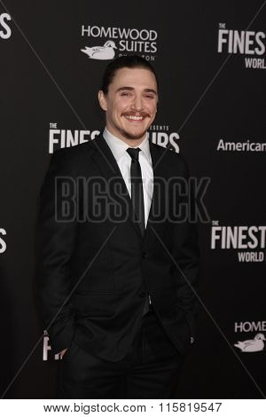 LOS ANGELES - JAN 25:  Kyle Gallner at the The Finest Hours World Premiere at the TCL Chinese Theater IMAX on January 25, 2016 in Los Angeles, CA