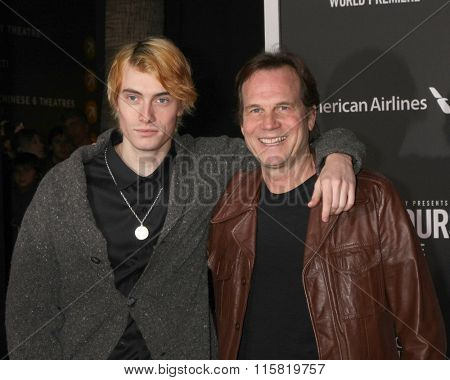 LOS ANGELES - JAN 25:  James Paxton, Bill Paxton at the The Finest Hours World Premiere at the TCL Chinese Theater IMAX on January 25, 2016 in Los Angeles, CA