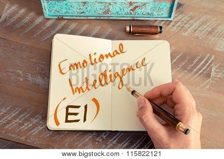 Business Acronym Ei Emotional Intelligence