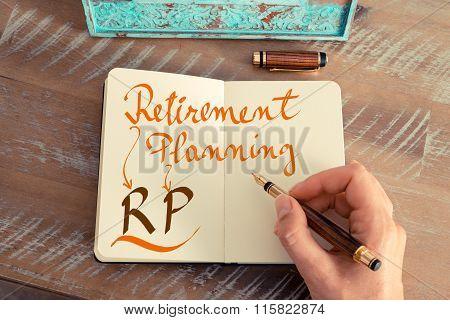 Business Acronym Rp Retirement Planning