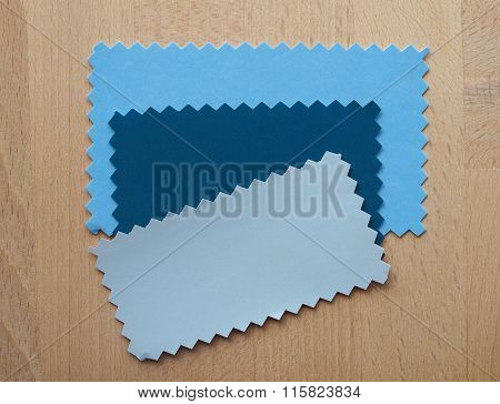 Blue And Grey Paper Sample