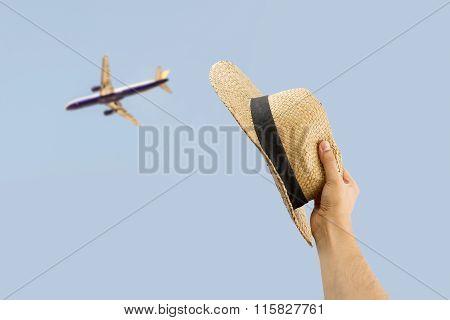 Greeting The Plane
