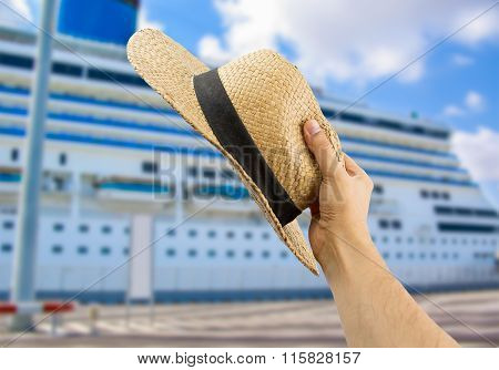 Greeting The Cruise Ship's People