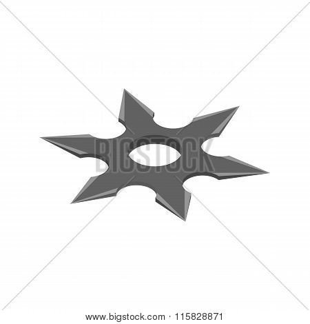 Shuriken isometric 3d icon