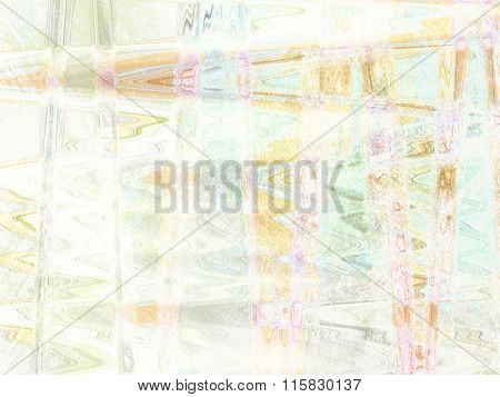 Soft background - abstract spring design in glitch style