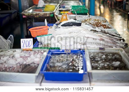Fresh Seafood Market Store