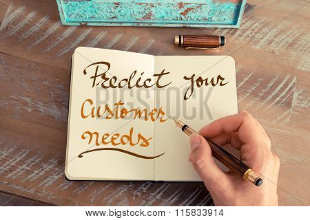 Handwritten Text Predict Your Customer Needs