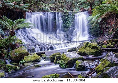 Horseshoe Falls In Mount Field National Park, Tasmania