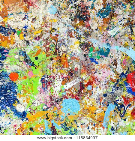 Abstract Colorful Texture Background.
