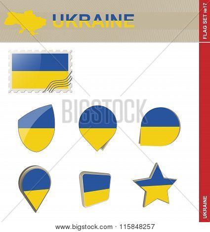 Ukraine Flag Set, Flag Set #17