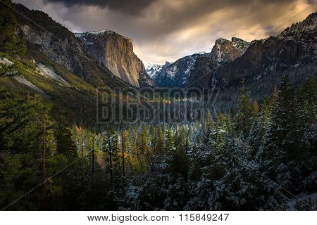 Tunnel View, Yosemite National Park