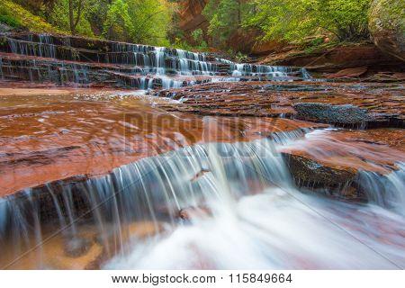 Archangel Falls, Zion National Park, Utah