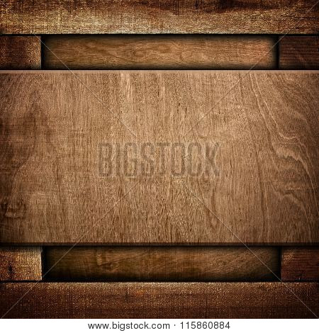 old wood template background