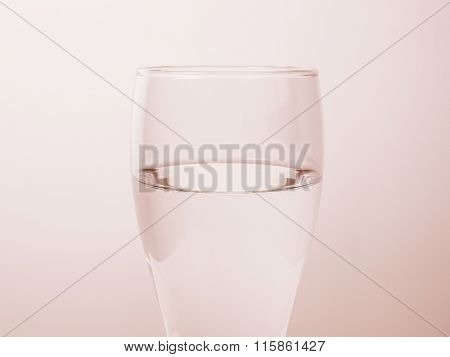 Glass Of Water Vintage