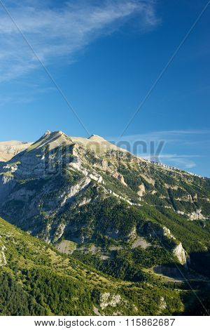 Izas Valley in Pyrenees, Canfranc Valley, Aragon, Huesca, Spain.