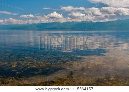 Water in Baikal lake