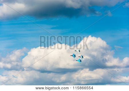 On military-Patriotic festival open sky - 2015