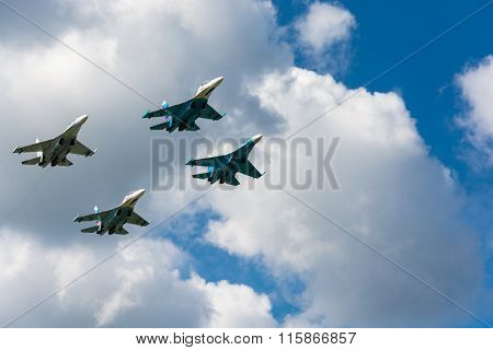 On military-Patriotic festival open sky - 2015.