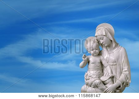 Statue Of Mary And Jesus