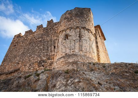 Fortress Of Calafell, Catalonia Region Of Spain