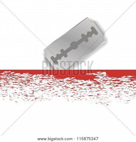 Metal Razor Blade