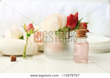 Rose cleansing water