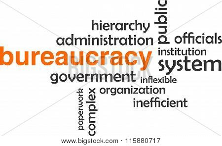 Word Cloud - Bureaucracy