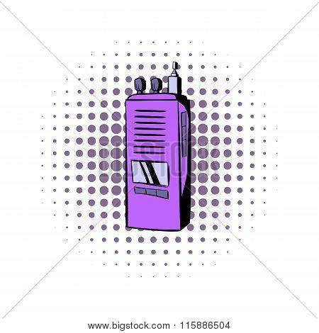 Radio comics icon