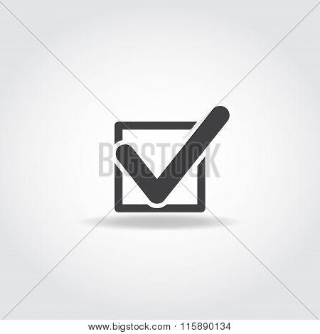 Vote Black Icon