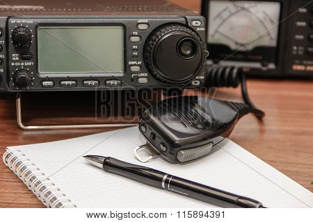 Radio transceiver.