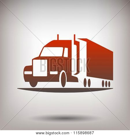 Pictograph of truck