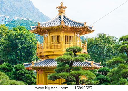 Pavilion Of Absolute Perfection In The Nan Lian Garden