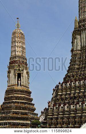 Asia  Thailand   Bangkok    Sky      And  Colors Religion