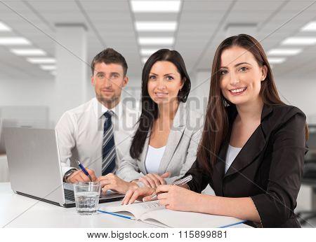 Work team.