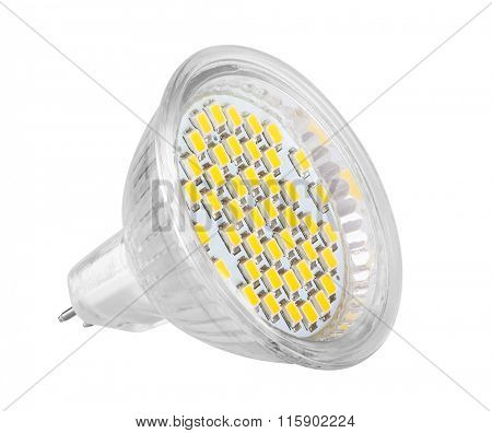 LED light bulb (lamp) Isolated on white background