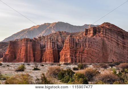 Red Rocks In The Quebrada De Las Conchas, Argentina