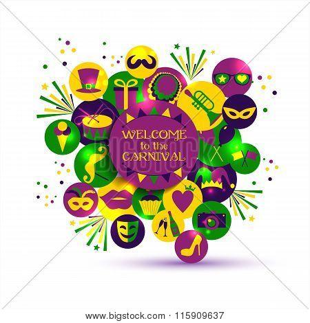 Carnival Vector Illustration.
