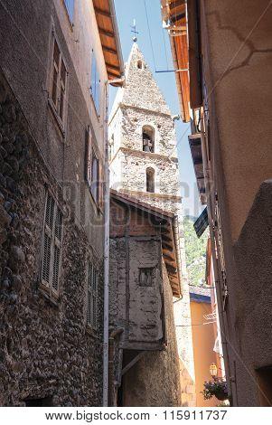 Saint-sauveur-sur-tinee (French Alps)