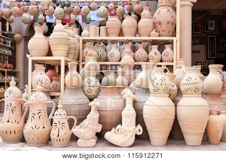 Terracotta Pots For Sale In Nizwa, Oman