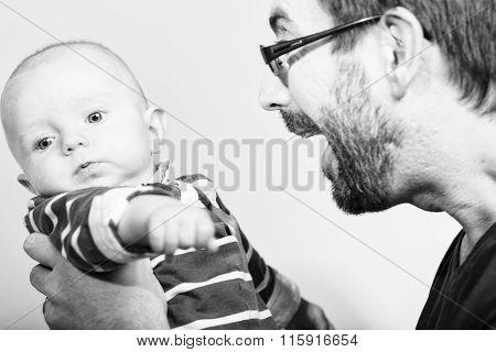 Portrait Of Young Parents