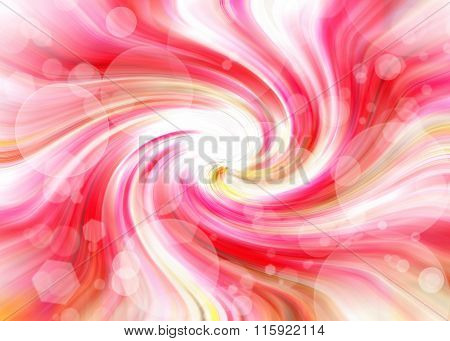 Abstract Pink Tint Bokeh Background