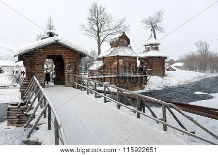 Bystrinsky Ethnographic Museum. Esso Village, Kamchatsky Krai